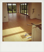 Laminate flooring. Winchester, Hampshire