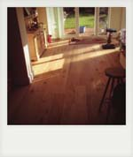Enginered oak floor. Petersfield.