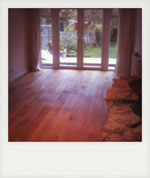 Engineered oak flooring. Liss, Hampshire